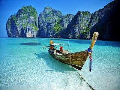 plaža Tajska